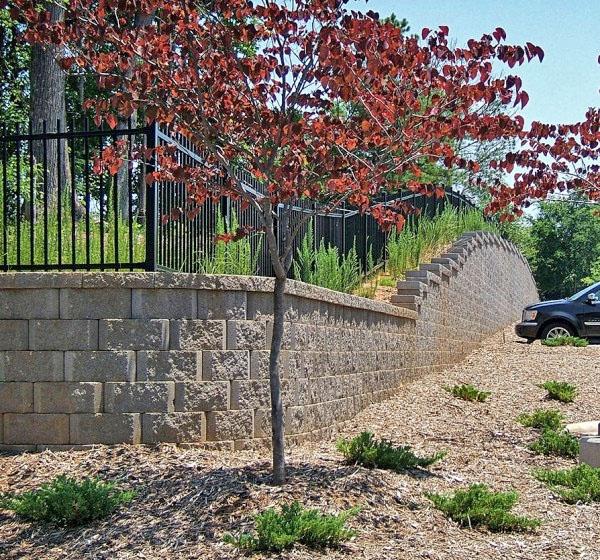 Modular Block Retaining Walls Concrete Segmental
