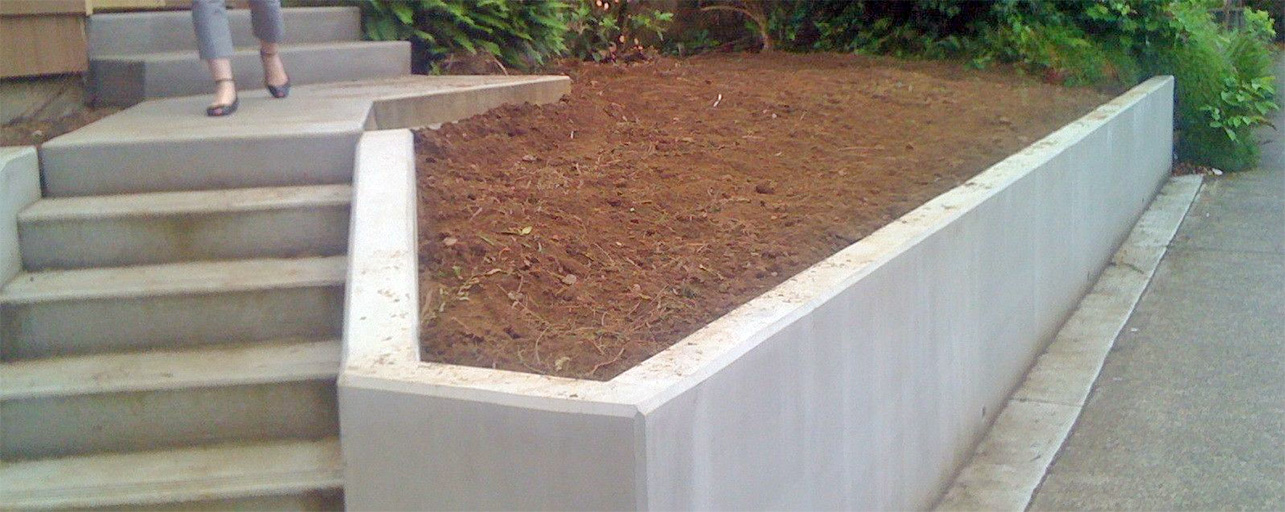 Poured Concrete Retaining Walls Retaining Wall Companies